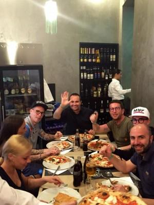 hamsik ciro salvo pizza