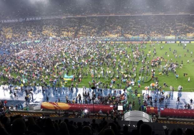 UEFA, procedimento disciplinare contro il Dnipro: c'è l'accusa di razzismo