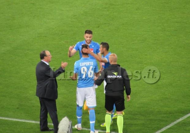 FOTO – Prima volta per Luperto, l'azzurrino all'esordio in gare ufficiali col Napoli