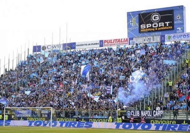 Parma-Napoli si gioca! Curva Sud aperta ai tifosi azzurri