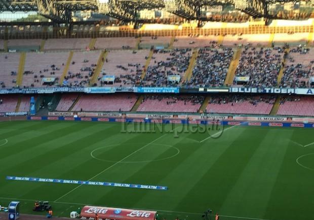 Napoli-Roma, da domani biglietti in vendita. Chiuso il settore ospiti