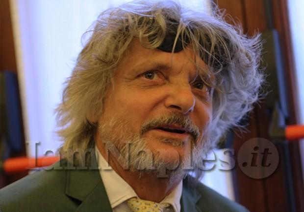 """Massimo Ferrero: """"Romagnoli pronto per il Napoli. Zapata? E' un calciatore che mi interessa…"""""""