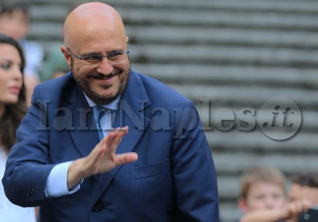 """FOTO – Anche l'ex dg Marino si complimenta con gli azzurri: """"Caro Napoli, sei strameritatamente in Champions!"""""""