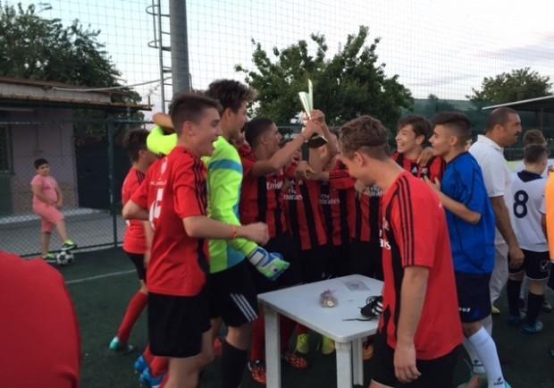 La Luigi Vitale A.C. Milan vince il 1° Torneo dell'Amicizia
