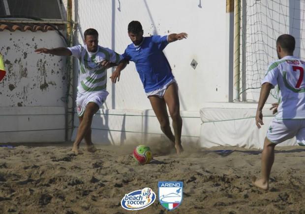 Beach Soccer – Tappa campana Serie B Arend, le semifinali