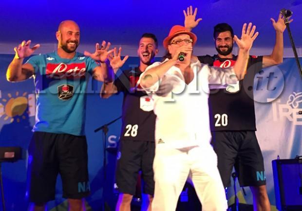 RILEGGI IL LIVE – Guido Lembo Show: Albiol, Reina e Valdifiori in versione 'karaoke'. Sul palco anche De Laurentiis