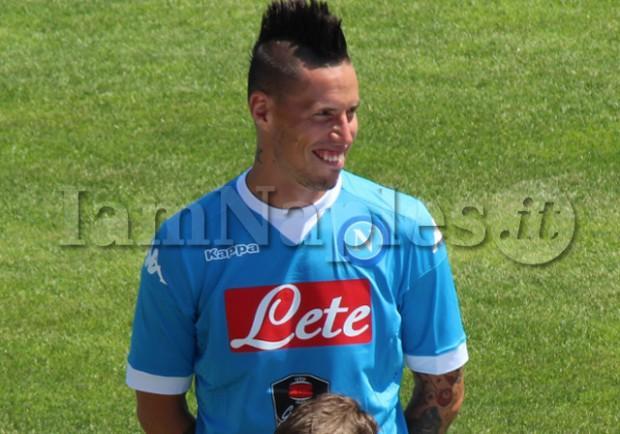 PHOTOGALLERY – Presentata la maglia del Napoli, tutti gli scatti di IamNaples.it