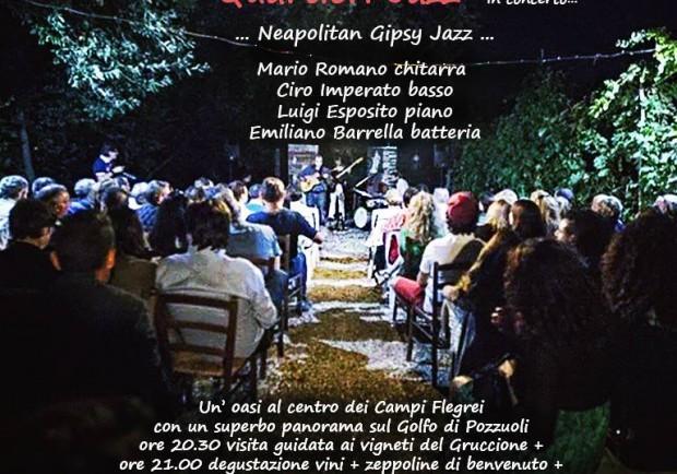 """Jazz in Vigna presenta """" Mario Romano Quartieri Jazz in concerto"""""""