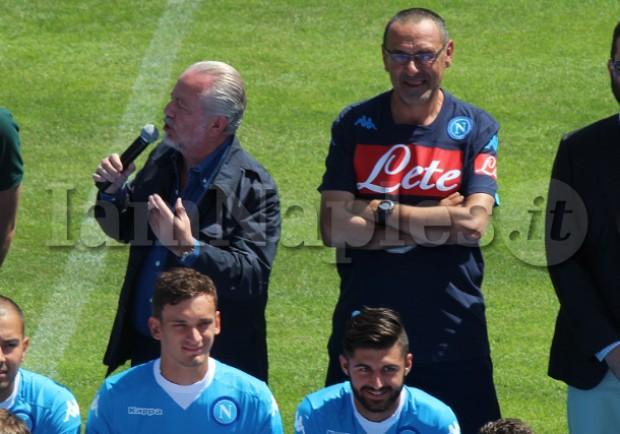 De Laurentiis segue a stretto contatto Sarri, possibile due annunci in settimana…