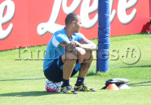 RILEGGI IL LIVE – Sarri lavora sulle due fasi, Sepe lascia l'allenamento, è diretto alla Fiorentina