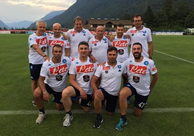 """SSC Napoli, premio """"Medici del Cuore"""" allo staff sanitario azzurro"""
