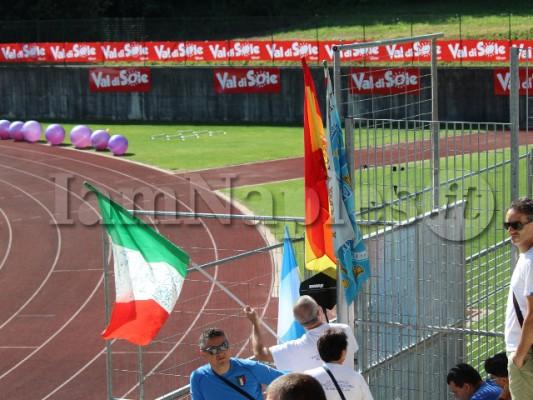 tifoso bandiera spagna argentina napoli italia