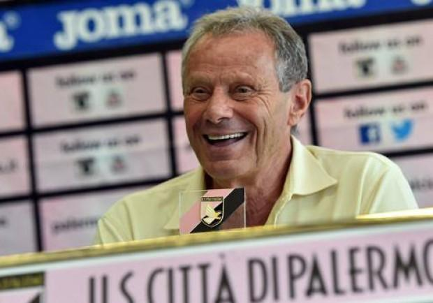 Palermo: blitz di Zamparini a Boccadifalco alla vigilia del match contro il Napoli