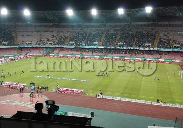 Napoli-Chievo, biglietti in vendita. Curve ancora a 25 euro