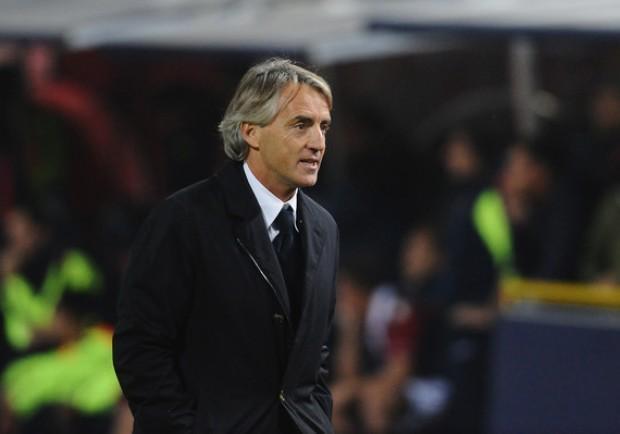 """Mancini: """"Riprendere il Napoli mi sembra esagerato, ma cercheremo di superare la Roma"""""""