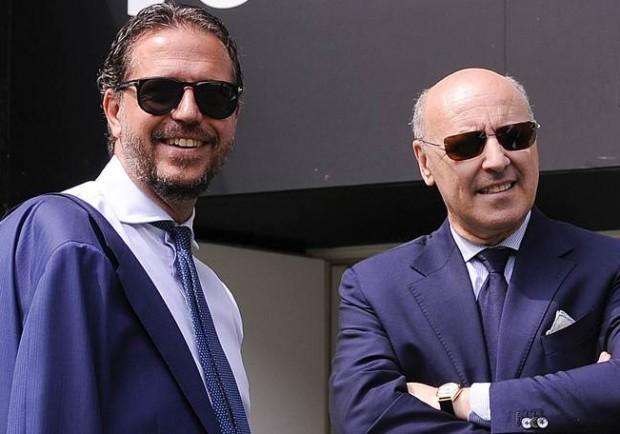 """Marotta: """"Io e Paratici ci troviamo benissimo nella Juve. E' giusto accorciare i tempi del mercato"""""""