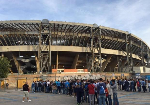 La Repubblica – Staccati meno di 15.000 biglietti, sarà un San Paolo semi deserto