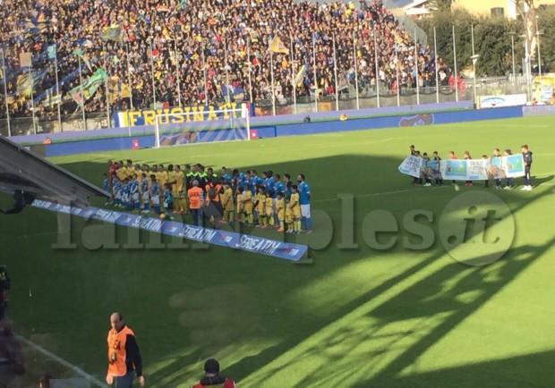 """Giannitti (Ds Frosinone): """"Col Napoli vogliamo onorare la categoria. La sudditanza psicologica.."""""""