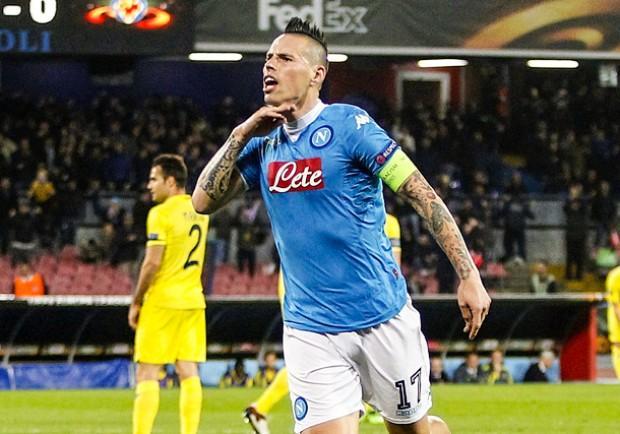 FOTO – Napoli, Hamsik miglior assist man della Serie A