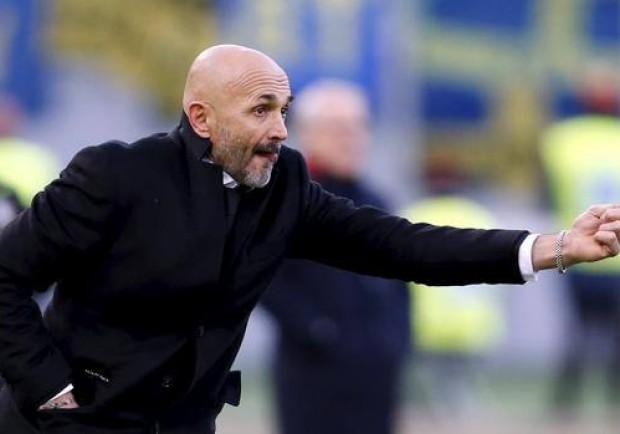 """Roma, Spalletti: """"Dzeko deve fare di più ma è sempre messo in discussione. Totti deve fare quel che vuole"""""""