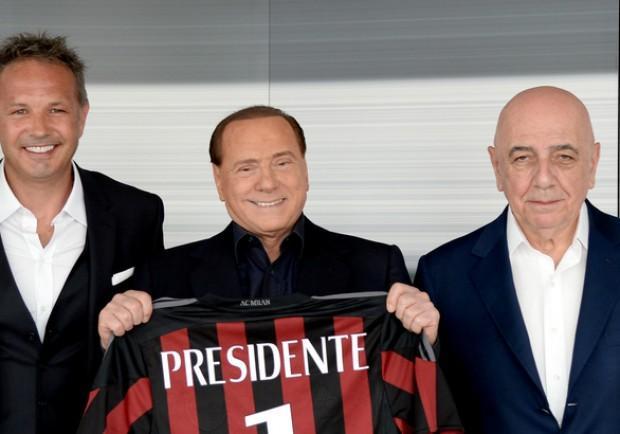 """Milan, Berlusconi: """"Ringrazio Mihajlovic, ma il Milan deve fare di più. Brocchi l'uomo del futuro"""""""