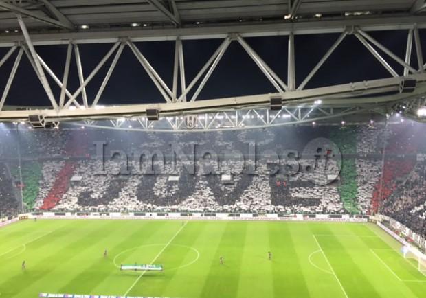Italia-Spagna, coperto il numero di scudetti della Juventus fuori lo Stadium