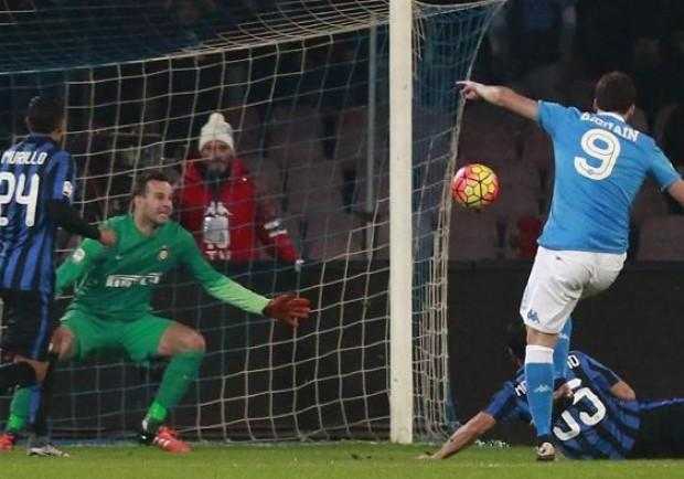 VIDEO – Napoli-Atalanta, 2-0: ancora Higuain, Nordhal a -3