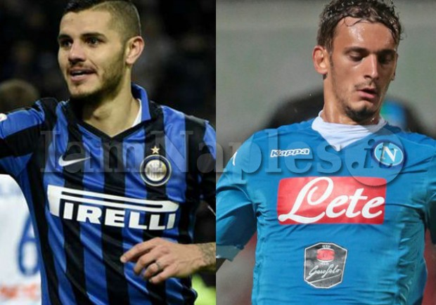 """GRAFICO – Inter-Napoli, la """"sfida del riscatto"""" tra Icardi e Gabbiadini"""