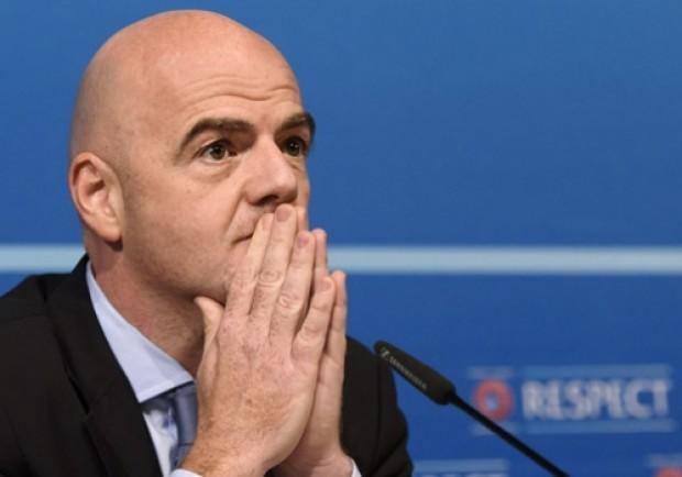 """Infantino: """"Italia ripescata? Bisogna qualificarsi sul campo"""""""