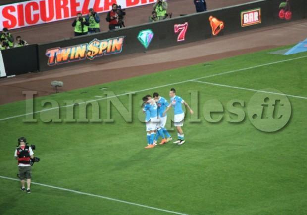 Napoli-Bologna 6-0, i dati del botteghino: scarsa affluenza alla quattordicesima vittoria interna degli azzurri