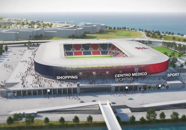 Cagliari, entro il 2021 il nuovo stadio: investimento da 60 milioni di euro