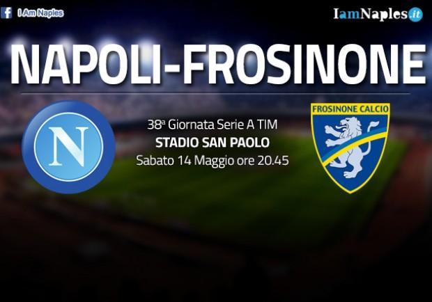 RILEGGI IL LIVE – Napoli-Frosinone 4-0 (44'Hamsik, 52′, 62′, 72′ Higuaìn): azzurri in Champions diretta, Pipita nella storia
