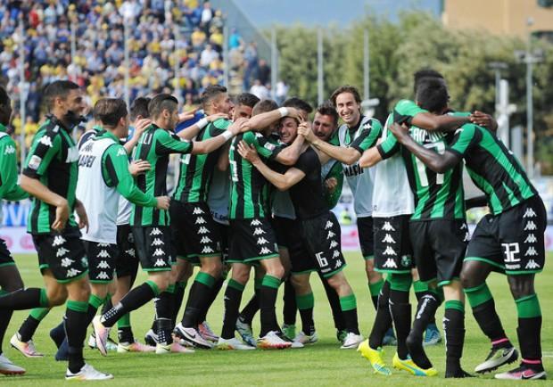 Europa League, Sassuolo show! 3-0 all'Athletic, in gol Lirola, Defrel e Politano