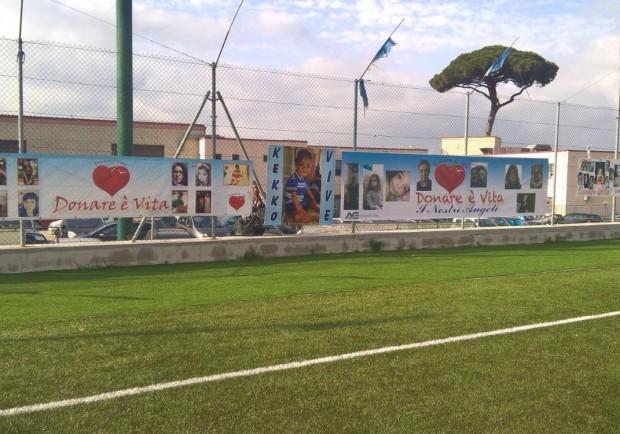 FOTO E VIDEO – 'Donare è Vita', il gol più importante nella XIX Giornata Mondiale della donazione di Organi a 'La Paratina' di Napoli