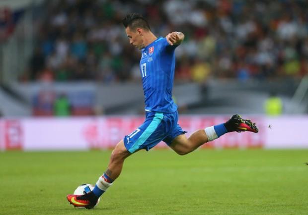 Slovenia-Slovacchia 1-0: mastica amaro capitan Hamsik, fermo a 0 punti
