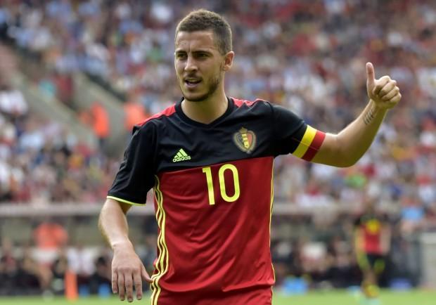 Eden Hazard eletto calciatore belga dell'anno: superato Dries Mertens