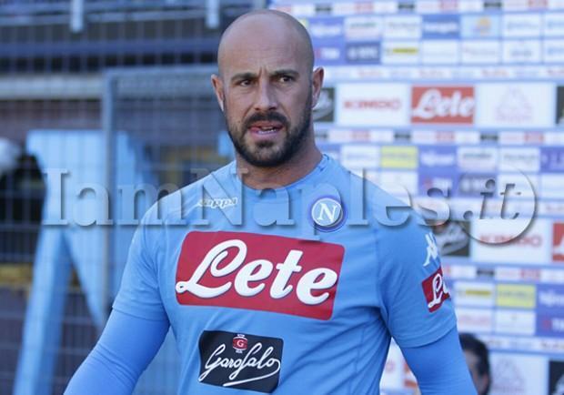 """Reina: """"A Napoli sono felice, l'Italia è casa mia. Buffon? Un esempio per tutti, giocare allo Juventus Stadium…"""""""