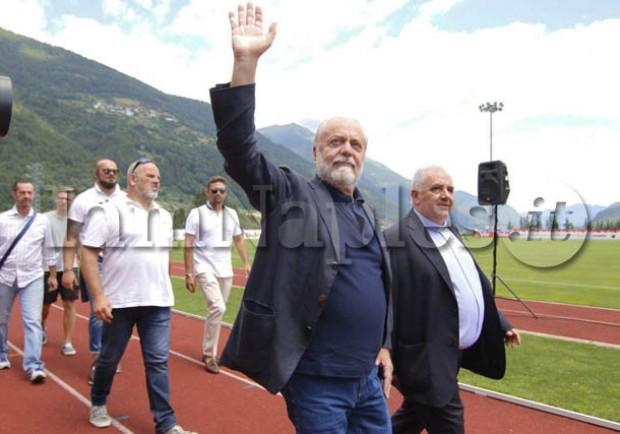 "Il Mattino: ""De Laurentiis lancia lo stadio per 20mila tifosi"""