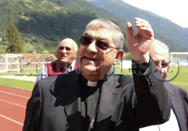 """Cardinale Sepe: """"Continuando cosi posso sperare solo cose belle per il Napoli"""""""