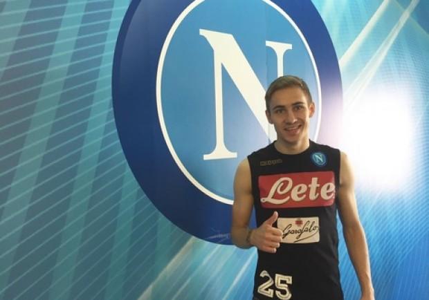 """Rog: """"Voglio iniziare a giocare anche nel Napoli ma non è facile perchè devo capire cosa vuole il mister"""""""
