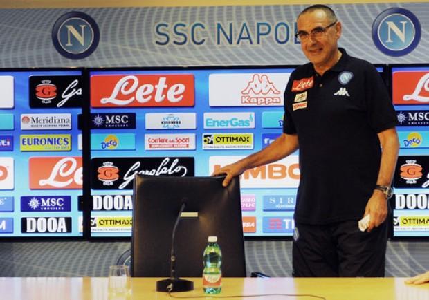 """Sarri in conferenza stampa: """"Abbiamo fatto una partita autoritaria, mi è piaciuto l'atteggiamento e la personalità"""""""
