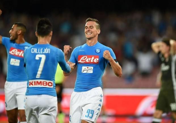 KKN – Dinamo Kiev-Napoli, Milik vince il ballottaggio con Gabbiadini