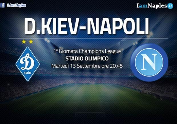 RILEGGI IL LIVE – Dinamo Kiev-Napoli 1-2 (25′ Garmash, 35′,45′ Milik): primi tre punti del del girone