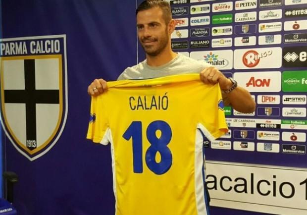 """Parma, Calaiò: """"Dedico il goal ai tifosi, il Parma merita la Serie A"""""""