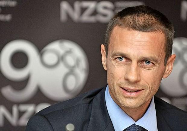 """Uefa, il Presidente Ceferin: """"Dobbiamo rafforzare ulteriormente il fair play finanziario"""""""