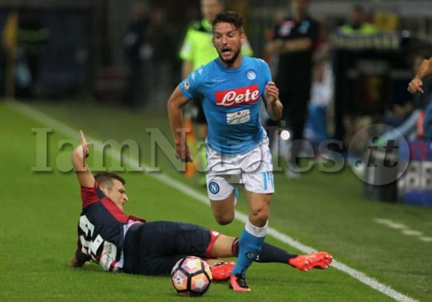 """Il commento della SSC Napoli: """"Due rigori non dati"""""""