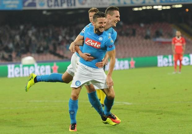 """Napoli, senti Mertens: """"Il mio segreto è la mozzarella di bufala"""""""
