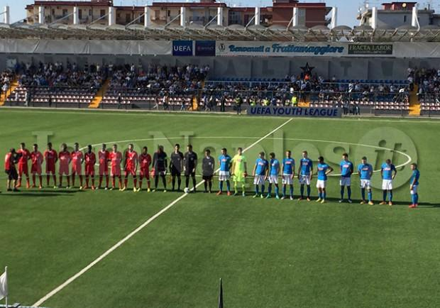 RILEGGI IL LIVE – Youth League, Napoli-Benfica 2-3 (25′ Sequeira, 55′ rig. Soares, 79′, 85′ De Simone, 86′ Florentino)