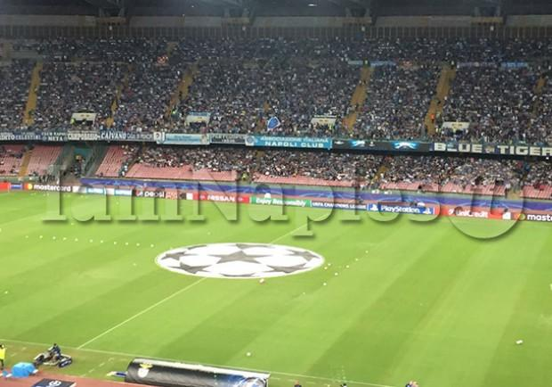 """L'urlo """"The Champions"""" del San Paolo all'attenzione dei sismografi: ecco il grafico"""