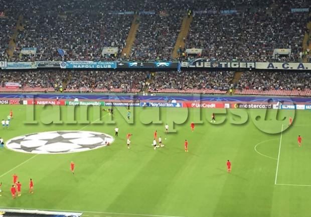 La Ssc Napoli sottolinea: azzurri imbattuti in Champions al San Paolo nell'era De Laurentiis